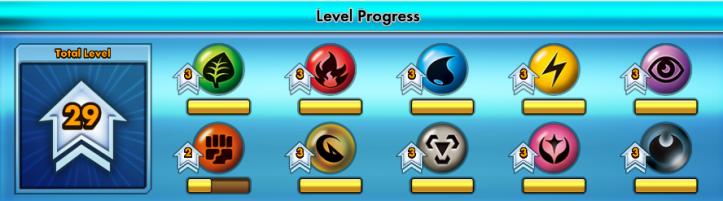 level progress
