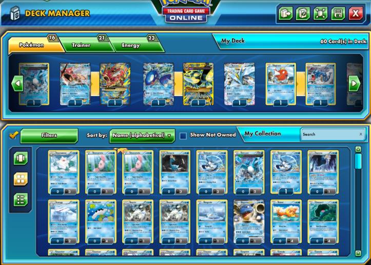 Pokemon trading card game deck strategies